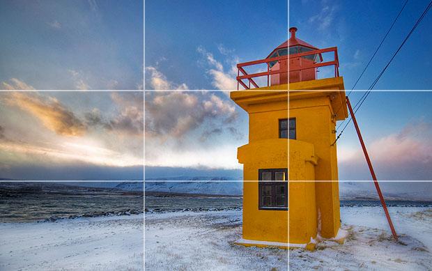 ترکیب بندی عکاسی قانون یک سوم