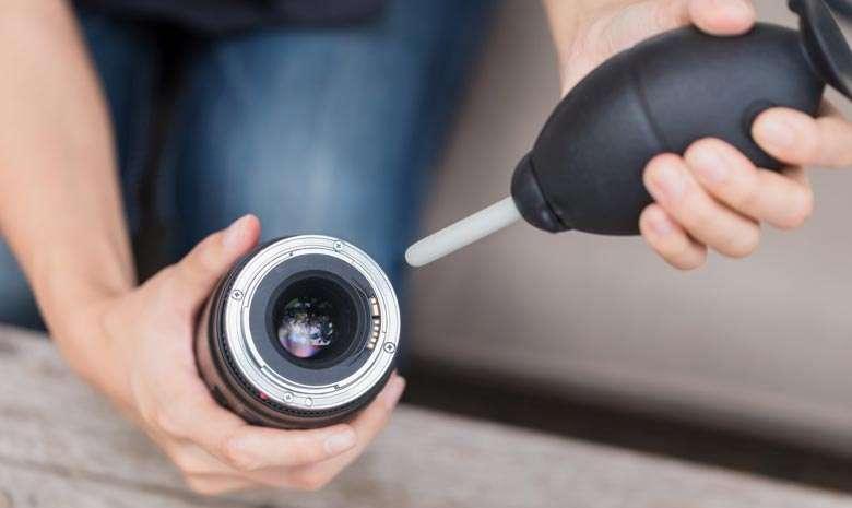 تمیز کننده لنز دوربین