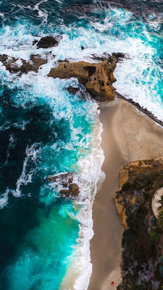 عکس زیبا از اقیانوس