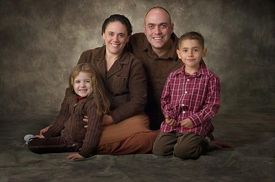 عکس پرتره خانوادگی